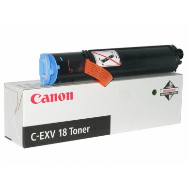 Toner Canon C-EXV18 Black (460g/appr. 8400 pages 6%) for iR10xx