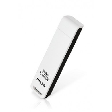 TP-LINK TL-WN821N  N300 Wireless USB Adapter, Atheros chipset, 2T2R, 300Mbps on 2.4Ghz, 802.11n/b/g