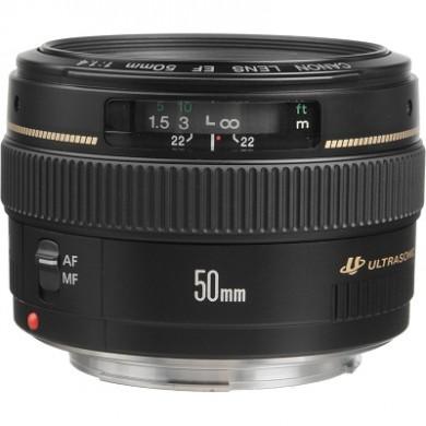 Prime Lens Canon EF 50 mm f/1.4 USM (2515A012)