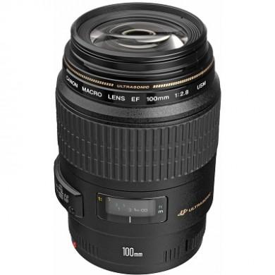 Prime Lens Canon EF 100 mm f/2.8 USM Macro (4657A011)