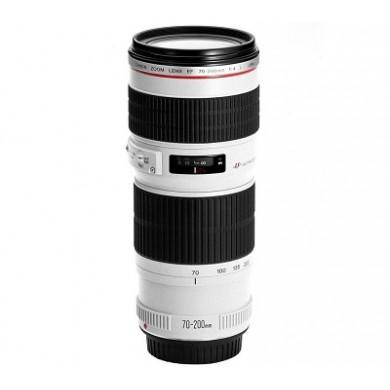 Zoom Lens Canon EF 70-200 mm f/4L IS USM (1258B005)