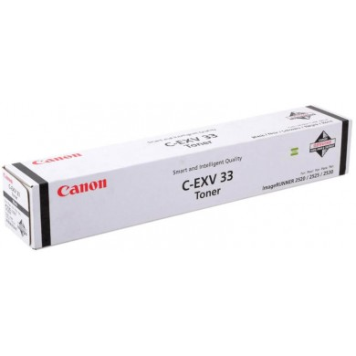 Toner Canon C-EXV33 Black (700g/appr. 14600 pages 6%) for iR2520/20i/25/25i/30/30i