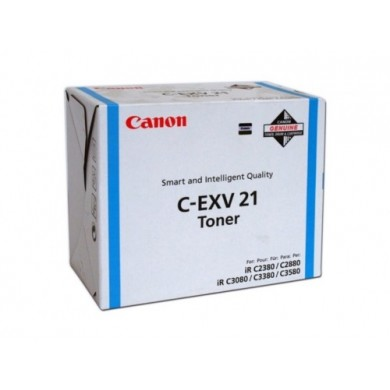 Toner Canon C-EXV21 Cyan, (260g/appr. 14000 pages 10%) for Canon iRC2380/3380