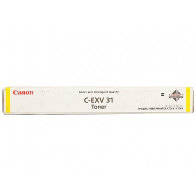 Toner Canon C-EXV31 Yellow, (940g/appr. 52 000 pages 10%) for Canon iR Advance C7055i/7065i