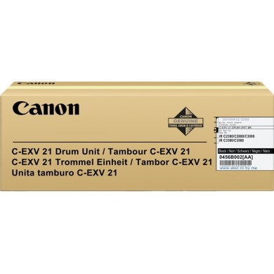 Drum Unit Canon C-EXV21 Black, 77 000 pages A4 at 5% for Canon iRC2380/3380