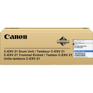 Drum Unit Canon C-EXV21 Cyan, 53 000 pages A4 at 5% for Canon iRC2380/3380
