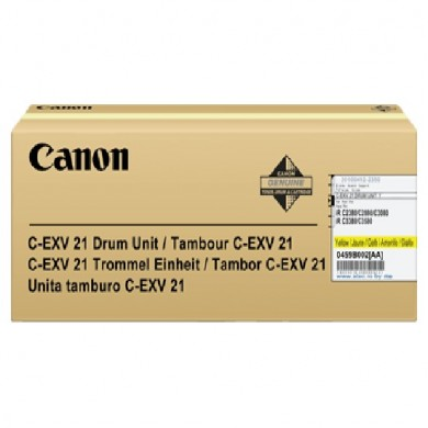 Drum Unit Canon C-EXV21 Yellow, 53 000 pages A4 at 5% for Canon iRC2380/3380