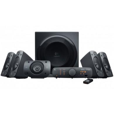Logitech Z906 Speaker System 5.1 (RMS 500W, 165W subwoofer, 5x67W), THX Certified, Black