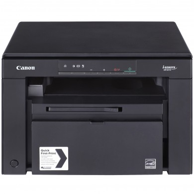 MFD Canon i-Sensys MF3010, Mono Printer/Copier/Color Scanner, A4, 18 ppm, 1200x600 dpi, 64Mb, Scan 9600x9600dpi-24 bit, Paper Input (Standard)150-sheet tray, USB 2.0, Cartridge 725 (1600 pages 5%)