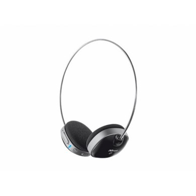 Trust  Wireless Bluetooth Headset, with Microphone, Bluetooth technology up to 10m, on/off button, volume control, Built-in Li-ion battery for 8 hours lifetime, rechargeable by USB, Black