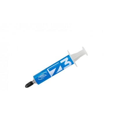 """Thermal Paste  DEEPCOOL """"Z3"""", Silver Tim Thermal Paste, 1.5g, Operation Temperature: --50°C--300° C, Silver gray"""