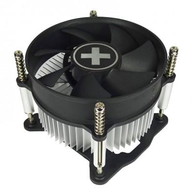 "XILENCE Cooler XPCPU.I200  ""I200"", Socket 1155/1156 up to 82W, 100x100x25mm, 2000rpm, <27dBA, 32.6CFM, 3pins, Screw&Back Plate inst., Aluminium Heatsink (64pcs/box)"