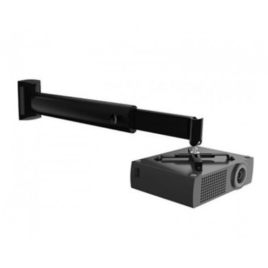 Sopar APOLLO Wall & Ceiling Universal Projector Mount 600-1200 mm, 360/20degrees tilt, Max.15 Kg, Black.