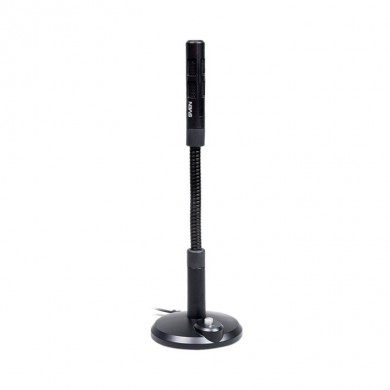 SVEN MK-490, Microphone, Desktop, On/off switch button, Flexible stand for rotation at any angle, Black