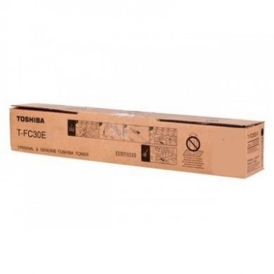 Toner Toshiba T-FC30EK Black, (xxxg/appr. 32 000 pages 10%)  for e-STUDIO 2051C/2551C/2050C/2550C