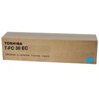 Toner Toshiba T-FC30EC Cyan, (xxxg/appr. 28 000 pages 10%)  for e-STUDIO 2051C/2551C/2050C/2550C