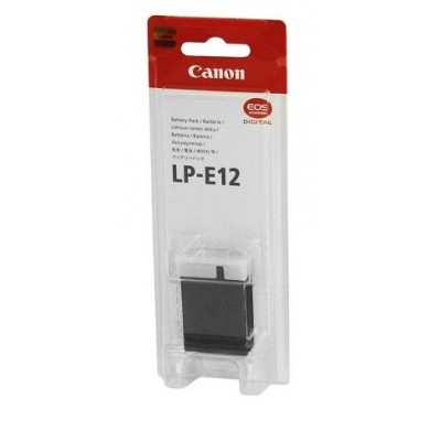 Canon LP-E12 Lithium-Ion Battery Pack (7.2V, 875mAh) for EOS M50, M100, Rebel SL1, SX70 (6760B002)
