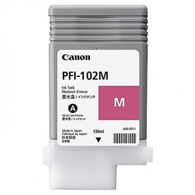 Ink Cartridge Canon PFI-104 M, magenta, 130ml for iPF650,655,750,755,760,765
