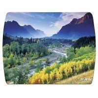 SVEN UA (8 pictures), Mouse pad, Dimensions: 230 x 180 x 2.35 mm, Material: polypropylene + foamed plastic, Wearproof print, Unique landscapes