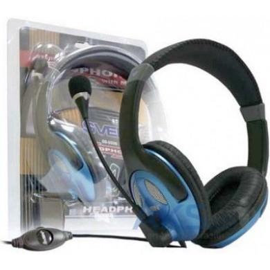SVEN AP-670MV, Headphones with microphone, Volume control, 2.5m,  Black