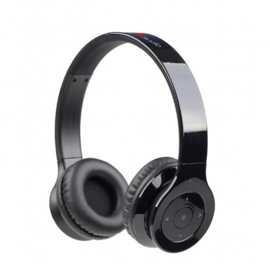 "Gembird BHP-BER-BK  ""Berlin"" - Black, Bluetooth Stereo Headphones with built-in Microphone, Bluetooth v.3.0 + EDR, up to 250 hours of standby & 10 hours of listening time, distance: up to 10 m, Rechargeable 320mAh Li-ion battery, multifunction button"