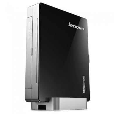 Mini PC  Lenovo IdeaCentre Q190 (Intel® Celeron® Dual Core 1017U 1.60GHz, 2GB DDR3, 500GB, Intel® HD Graphics, 4xUSB 2.0, 2xUSB 3.0, CardReader, Gbit Lan, Wifi-N, HDMI, VGA, SPDIF, Lenovo Rescue System, DOS, VESA Mount, 155*192*22mm)