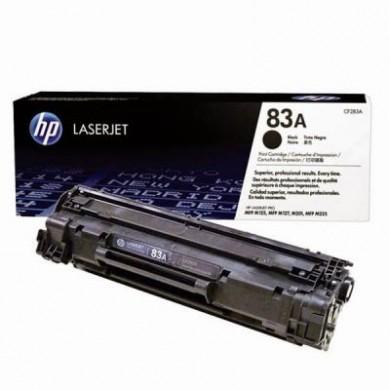 HP 83A Black Original Toner Cartridge for LaserJet Pro M125, M127, M225 Series, 1500 pages