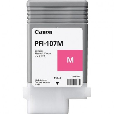 Ink Cartridge Canon PFI-107 M, magenta, 130ml for iPF670,680,685,770,780,785