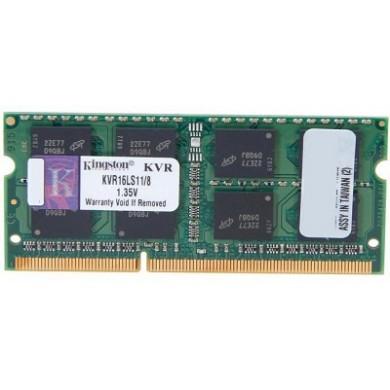 2GB DDR3L-1600 SODIMM  Kingston ValueRam, PC12800, CL11, 1.35V