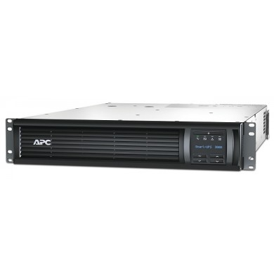 APC Smart-UPS Rack Mounting 2U SMT3000RMI2U, 3000VA/2700W, AVR, 9 x IEC Sockets ( 8 IEC C13, 1 IEC C19 all 9 Battery Backup + Surge Protected), LCD Display, PowerChute USB /Serial Port