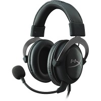Headset  HyperX Cloud II, Metal, Solid aluminium build, Microphone: detachable, USB Surround Sound 7.1, Frequency response: 15Hz–25,000 Hz, Cable length:1m+2m extension, 3.5 jack, Pure Hi-Fi capable, Braided cable, Mesh bag