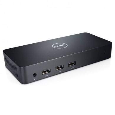 Dell Docking Station D3100 -  USB 3.0 Ultra HD Triple Video , 2*HDMI, 1*DP, LAN, 5*USB