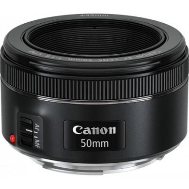Prime Lens Canon EF 50 mm f/1.8 STM (0570C005)