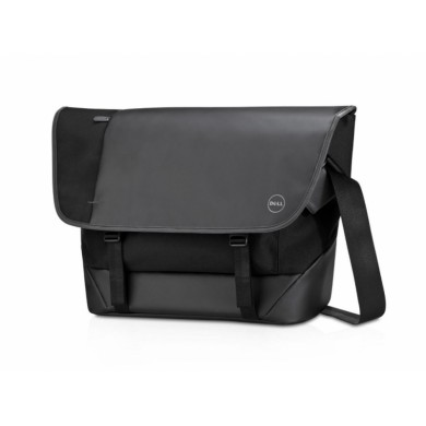 "15.6"" NB Bag  - Dell Premier Messenger (M), Black, messenger's multiple storage pockets keep documents and accessories organized, while its dedicated notebook and tablet sleeves keep your electronic devices safe and protected"