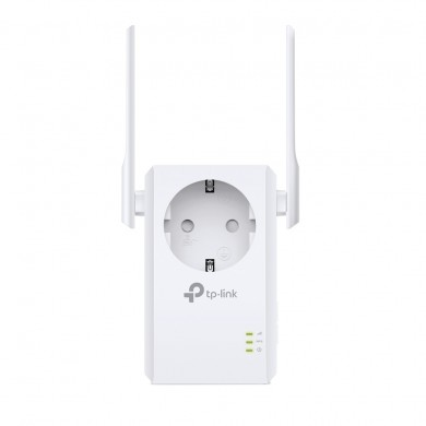 TP-LINK TL-WA860RE  N300 Wireless Range Extender with AC Passthrough, 300Mbps 2.4GHz, 802.11n/g/b, Ranger Extender mode, 1 Lan Port, WPS, 2 external antennas