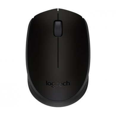 Logitech Wireless Mouse M171 Black, Optical Mouse for Notebooks, Nano receiver,  Black, Retail
