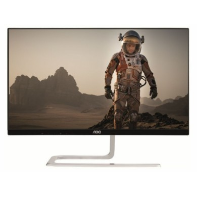 "27.0"" AOC IPS LED I2781FH Borderless Black (4ms, 50M:1, 250cd, 1920x1080, 178°/178°, VGA, HDMIx2, Audio Line-out, Borderless display)"