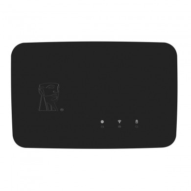 KINGSTON MobileLite Wireless Reader G3 PRO - Inputs USB, SD, Wi-Fi 802.11ac, LAN, 64GB storage, support 3G dongle, PowerBank (Battery Built-in rechargeable Li-ion 6700 mAh)