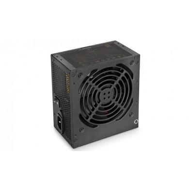 "PSU DEEPCOOL ""DA600"", 600W, ATX 2.31, 80 PLUS® Bronze, Active PFC, 120mm Silent fan with PWM, Double Layer EMI Filter, +12V (46A), 20+4 Pin, 1xEPS(4+4Pin), 5x SATA, 4xPCI-E(6+2pin), 3x Periph., MTBF100000Hours, Black"