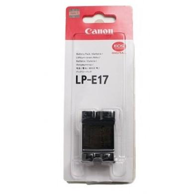 Battery Canon LP-E17, 7.2V, Li-Ion 1040mAh (9967B002) for EOS RP, 200D,750D,760D & M100, M6, M5, M3 & Rebel T6i