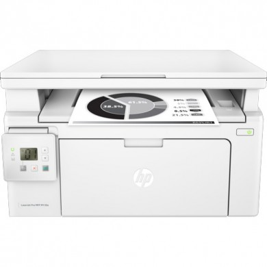 MFD HP LaserJet Pro M130a, White, A4, up to 22ppm, 128MB, 2-line LCD, 600dpi, up to 10000 pages/monthly, HP ePrint, Hi-Speed USB 2.0, CF217A (~1600 pages 5%)