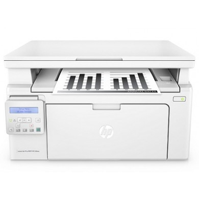 MFD HP LaserJet Pro M130nw, White, A4, up to 22ppm, 256 MB, 2-line LCD, 600dpi, up to 10000 pages/monthly, HP ePrint, Hi-Speed USB 2.0, Fast Ethernet 10/100Base-TX, Wi-Fi 802.11b/g/n, CF217A (~1600 pages 5%)