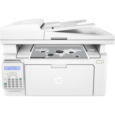 MFD HP LaserJet Pro M130fn, White, A4, Fax, up to 22ppm, 256 MB, 35-sheets ADF, 2-line LCD, 600dpi, up to 10000 pages, PCLmS, URF, PWG, HP ePrint, Hi-Speed USB 2.0, Fast Ethernet 10/100Base-TX, CF217A (~1600 pages 5%)
