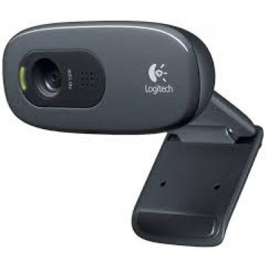 Logitech HD Webcam C270, Microphone, HD 720p video calls & recording, 3 Megapixel images,USB 2.0
