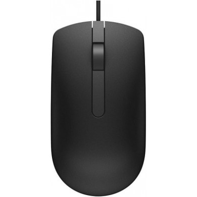 Dell Optical Mouse - Wired - USB, 1000 dpi, 413g,  MS116 - Black (570-AAIS)