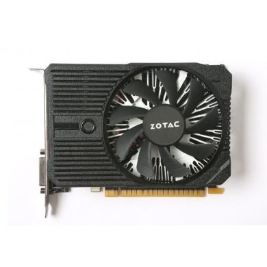 ZOTAC GeForce GTX 1050 Ti 4GB DDR5, 128bit, 1417/7008Mhz, Single Fan, HDCP, DVI, HDMI, DisplayPort, 90mm fan, Direct GPU contact, Custom Aluminium heatsink, Lite Pack