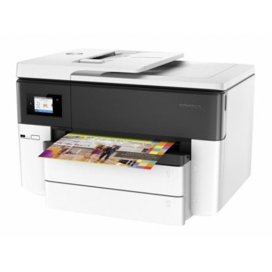MFD HP OfficeJet Pro 7740 Wide, White,  A3, Fax, up to 34ppm, 4800x1200dpi, Duplex, 512MB Memory, 6,75 cm Touch LCD, up to 30000 pages, 35 pages ADF, USB 2.0, WiFi 802.11b/g/n, Ethernet, ePrint,  AirPrint (#953/XL B/C/M/Y Cartridge)
