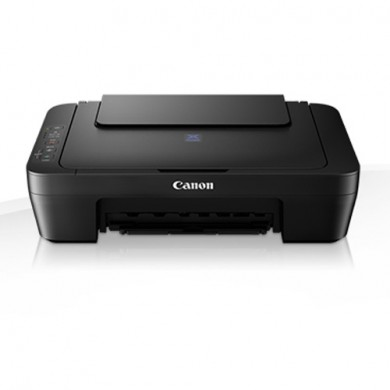 MFD Canon Pixma E414 Black, Colour Printer/Scanner/Copier , A4, Print 4800x600dpi_2pl,Scan 600x1200dpi,ESAT 8.0/4.0 ipm,64-275г/м2,Cassette: 100 sheets, USB 2.0, 2 x  Ink Cartridge PG-46, CL-56 (Optional PG-46XL, CL-56XL)