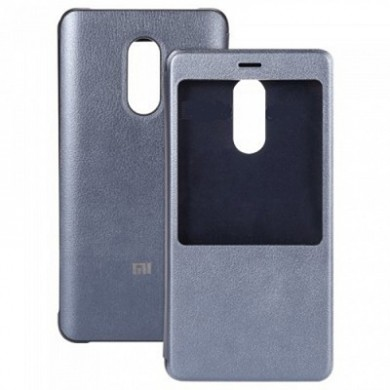 Xiaomi Leather Smart Display Case Gray for Xiaomi Redmi Pro