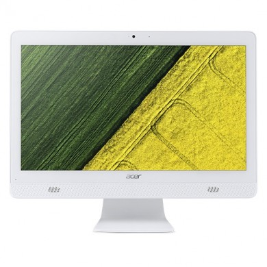 "All-in-One PC - 19.5""  ACER Aspire C20-720 HD+  +Win10 (DQ.B6XME.002)  Intel® Celeron® J3060 up to 2.48 GHz, 4GB DDR3 RAM, 500GB HDD, DVDRW, Card Reader, Intel® HD 400 Integrated Graphics, Wi-Fi/BT, Gigabit LAN, 45W PSU, Win 10 Ru, KB/MS, White"